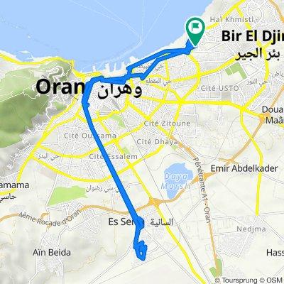 Unnamed Road, Bir El Djir to وهران