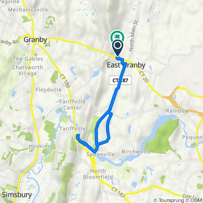 Metacomet Dr, East Granby to 10 Metacomet Dr, East Granby