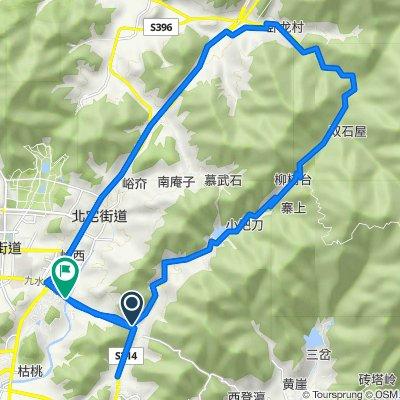 500m climb