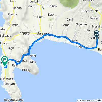 Diokno Highway 227, Lemery to Unnamed Road, Calatagan