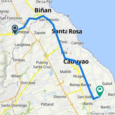 Loyola Street 1135, Carmona to Unnamed Road, Cabuyao
