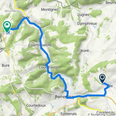 De Côte Champ Françon 15, Alle à Le Mairâ 17, Buix