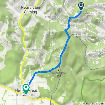Kleinmürbisch, Kleinmürbisch nach Untere Hauptstraße 12c, Heiligenkreuz im Lafnitztal