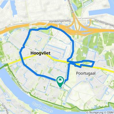 Want 12–14, Hoogvliet to Want 18, Hoogvliet