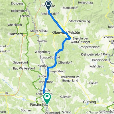 L264 40, Pinkafeld nach E66 12, Rudersdorf