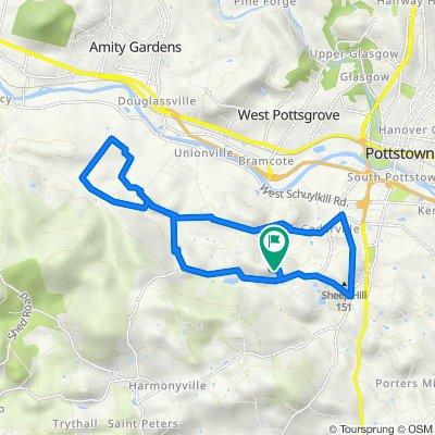 Alyssa Lane 1815, Pottstown to Alyssa Lane 1815, Pottstown