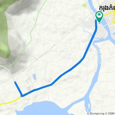 National Road 3, Krong Kampot to National Road 3, Krong Kampot