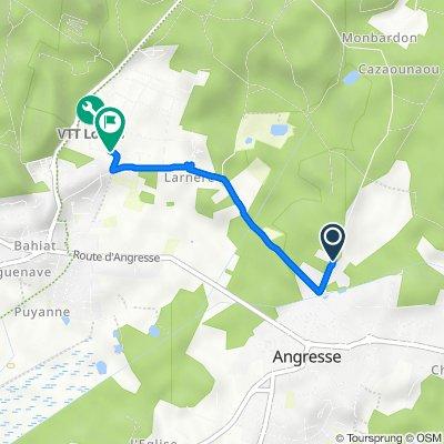 De 515–543 Route de Seignosse, Angresse à 58 Avenue de Pédebert, Soorts-Hossegor