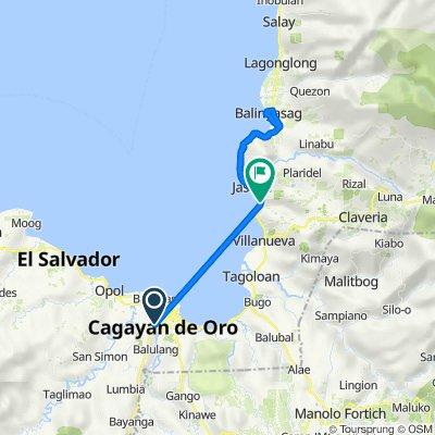 Route to Butuan - Cagayan de Oro - Iligan Road, Jasaan