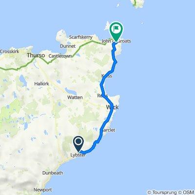 Quatre Bras, Lybster to A99, John O' Groats, Wick