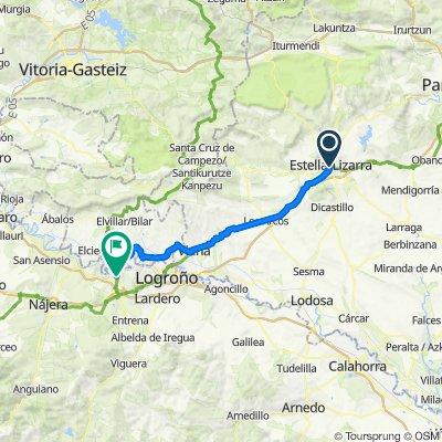 Camino-03: Lizarra - Logroño (Fuenmayor)