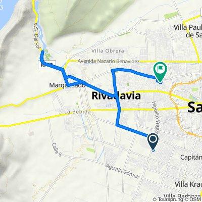 De Hipólito Yrigoyen Sur 1521, Villa Krause a Adán Quiroga Norte 488, San Juan