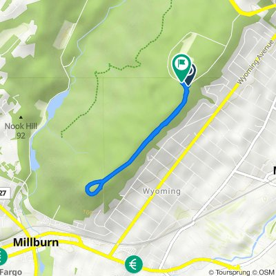Crest Dr, Maplewood to 6–16 Bear Ln, Millburn