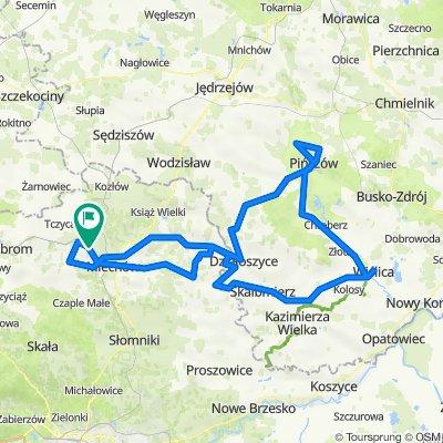 25.07.2021 Chodów - Pińczów - Wiślica - Chodów SK