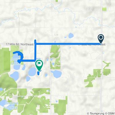 17 Mile Road Northeast 2371, Cedar Springs to Olin Ridge Drive 13339, Sparta
