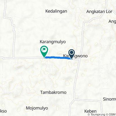 Jalan Suratman, Tambakromo to Unnamed Road, Tambakromo