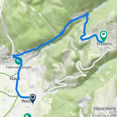 Da Johann-Georg-Seyfried-Weg 2, Weiler a Im Dorf 5, Fraxern