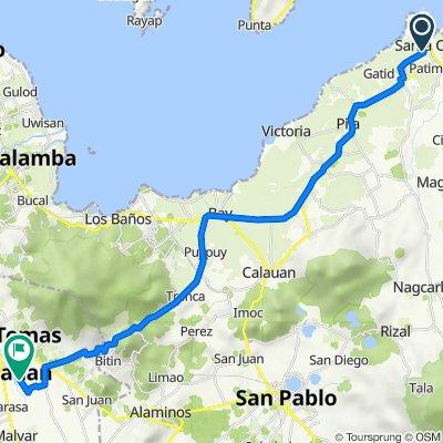 Quezon Avenue 4045, Santa Cruz to Davao Del Sur Street s8, Santo Tomas
