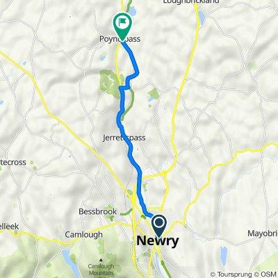 Newry to Pontyzpass
