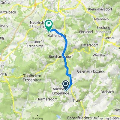 Gelenauer Straße, Auerbach nach Wasserschloßweg 6, Chemnitz