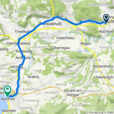 Industriestraße 12–14, Puchheim nach Hauptstraße 4, Schörfling am Attersee