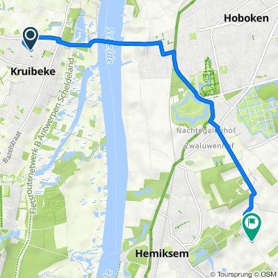 Hendrik Mertensstraat 56, Kruibeke to Groenenhoek 56, Aartselaar