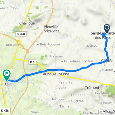 De Le Haras, Saint-Léonard-des-Parcs à 2 Place du Général de Gaulle, Sées