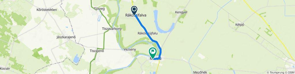 Rákóczi Ferenc utca 76., Rakoczifalva to Ifjúsági utca 1., Martfű