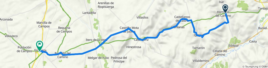 Camino-06: Hornillos (Burgos) - Fromista