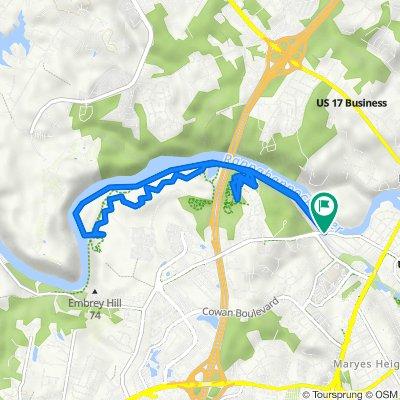 Heritage Trail, Fredericksburg to Heritage Trail, Fredericksburg