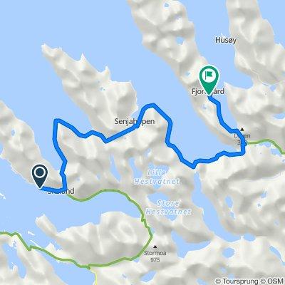 Skaland to Fjordgard