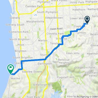 Route to 1 Marine Parade, Marino