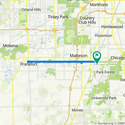 Station Drive 3520, Matteson to Clover Lane 3339, Matteson