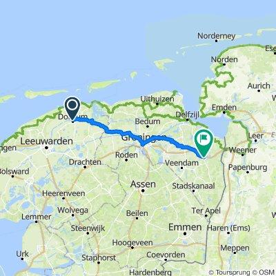 Dokkum Winschoten 87 km