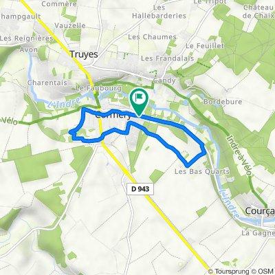 De 2–4 Route de Courçay, Cormery à 19 Rue du Chaisneau, Cormery