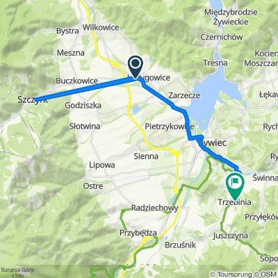 Beskidzka 8, Łodygowice do Beskidzka 128, Trzebinia