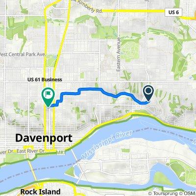 43 Crestwood Terr, Davenport to 1120 N Main St, Davenport