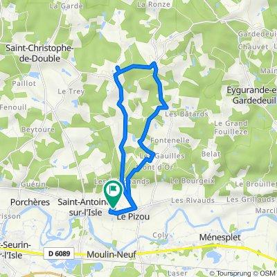 De 1029A Chemin du Mange-Vent, Le Pizou à 1029A Chemin du Mange-Vent, Le Pizou