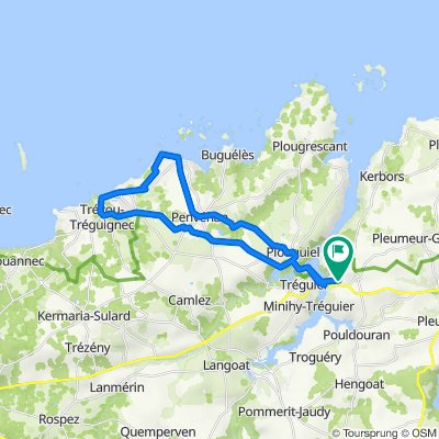 Tour am 28.07.2021 Trévou Tréguignec