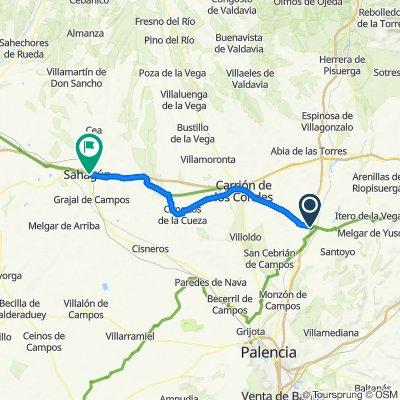 Camino-07:  Fromista - Sahagun