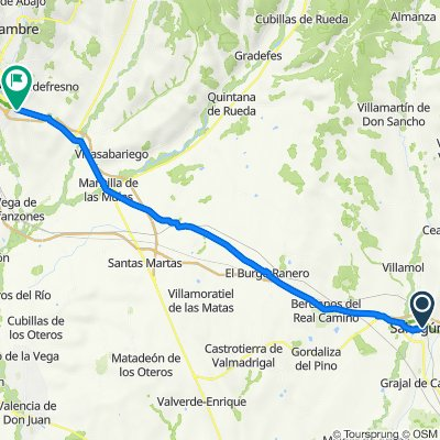 Camino-08:  Sahagun - Leon