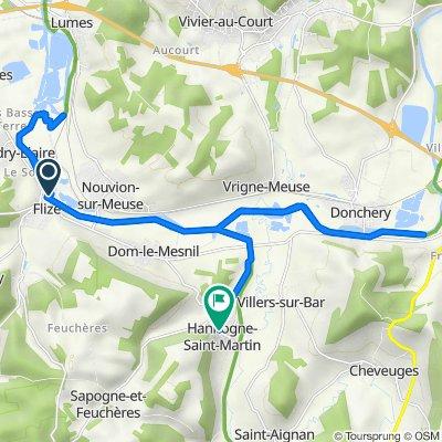 Itinéraire vers 2bis Rue de la Cour, Hannogne-Saint-Martin