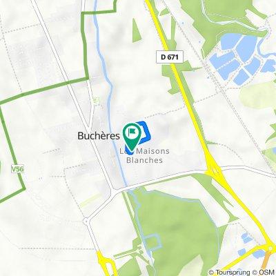 De 13 Ruelle des Colettes, Buchères à 13 Ruelle des Colettes, Buchères