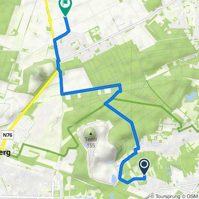 Rietstraat 3–7, As naar Nijverheidslaan, Oudsbergen