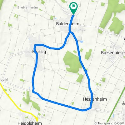 De 1 Rue des Vergers, Baldenheim à 4 Rue des Vergers, Baldenheim