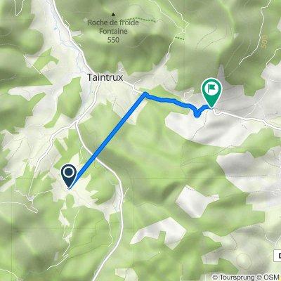 De 29 Chemin du Reneux, Taintrux à D58, Saulcy-sur-Meurthe