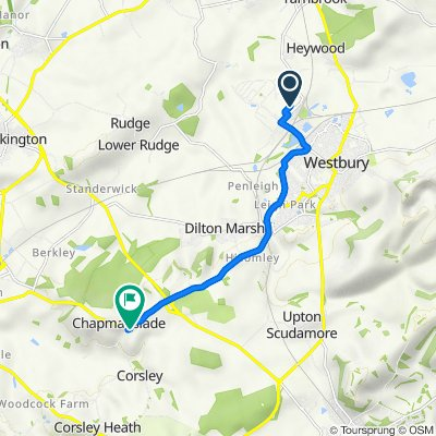 Hawkeridge Park 48 to Brimhill Rise 13, Chapmanslade
