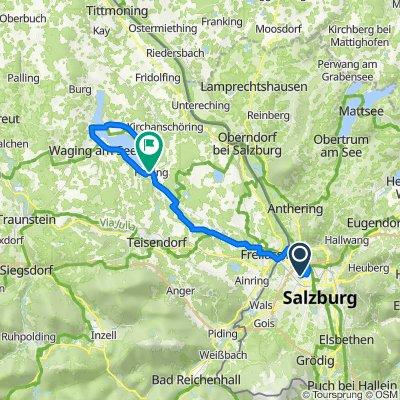 Salzburg -Wagingersee