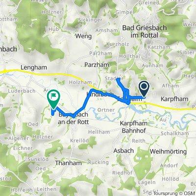 Singham 40, Bad Griesbach im Rottal nach Huckenham 11, Bayerbach
