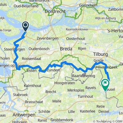 De Sluispad Zuid, Heijningen à Turnhoutseweg 54A, Reusel